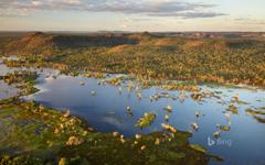 Kakadu National Park in the Northern Territory Australia
