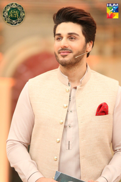 Ahsan Khan Just Responded To Criticism Against Celebrities Hosting