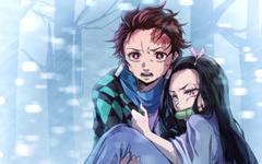 Wallpapers of Anime Demon Slayer Nezuko Kamado Tanjirou backgrounds