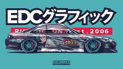 EDC Graphics Nissan Silvia S14 Render Nissan Anime Girls JDM Pokemon Side View Itasha Turquoise Colo Wallpapers