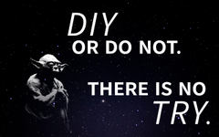 Star Wars diy or do not there is no try