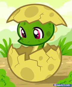 Cute Animated Baby Dinosaurs