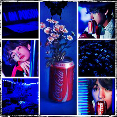 bts taehyung v and coke