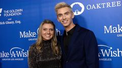 Grace Sharer and Stephen Sharer 2019 Wish Gala Red Carpet Fashion