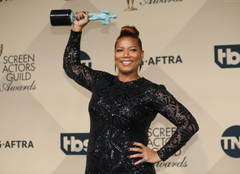 Wallpapers Queen Latifah 4k photo Celebrities