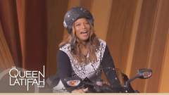 Motorcycle Entrance on The Queen Latifah Show