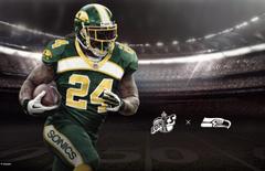 Seahawks uniform reimagined as Seattle Supersonics Seahawks