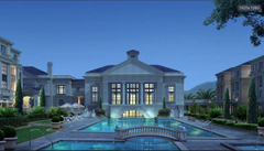 My dad brought us this mansionand gave my two year old little sister the biggest room