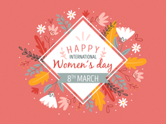 Women s day in floral concept by Laura Alcocer on Dribbble