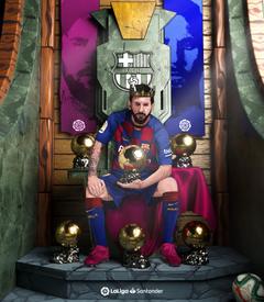 Ballon d Or 2019 Messi wallpapers