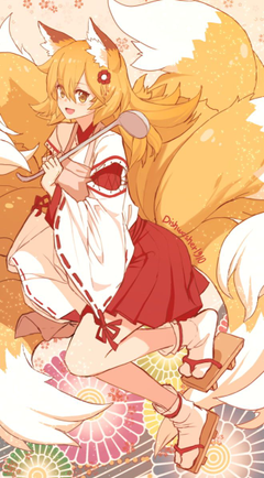 Materi Pelajaran 6 Anime Fox Cute Girl