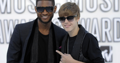 justin beuber and usher