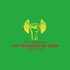 Lift Weights No Gain