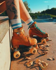 Lmao I roller skated this mornin