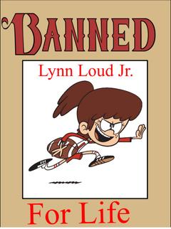 Lynn Loud hate background 3