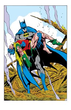 DC Comics killed off Robin in a Batman contest but had a backup plan